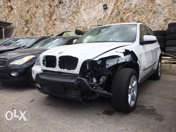 BMW X5 2009 White Sport Package