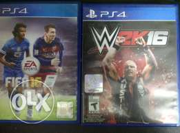 fifa 15 and wwe 2k16 for trade