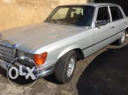 mercedes 280 SEL 1977 conpany sourse Gargour all original