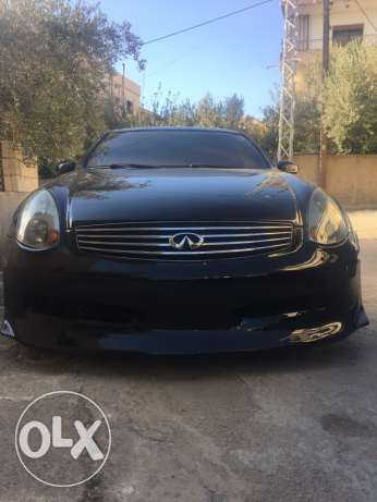 g35 black & black new tires excellent condition no accident حوش الأمراء -  2