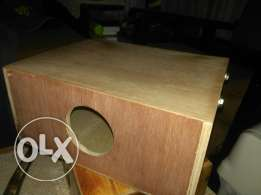 Handmade Cajon with adjustable snare