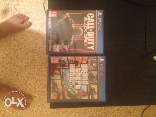 gta v ps4 and bo3 for sale or trade