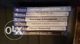 Ps4 games like new 20-->25$ buy or trade