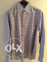 Shirt - Hilton, Blue and Beige - Original