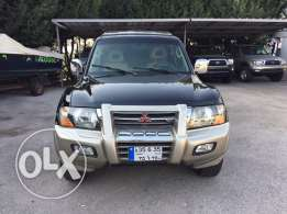 Mitsubishi Montero limited 2001 full options no accident