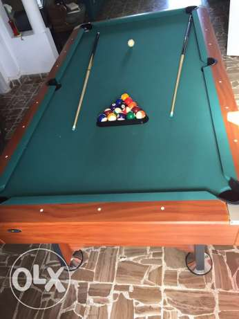 billard table like new rarely used for sale منصورية -  2