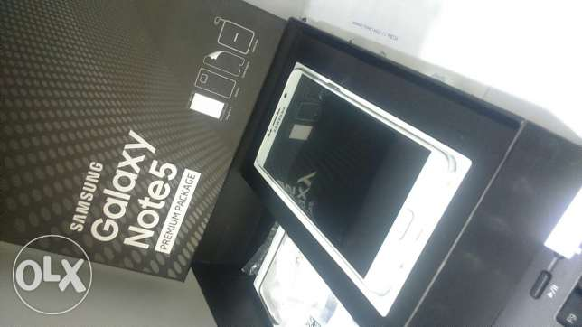 New for sale warranty ctc in box note 5 2sim وسط المدينة -  3
