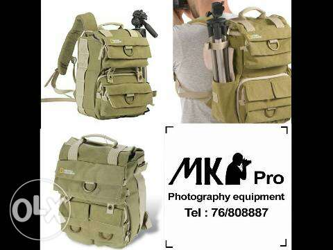 National Geography bag for dslr Camera