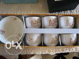 6 crafted handmade cups, 40$ instead of 90$