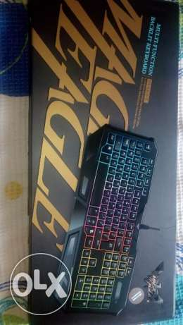 Gaming keyboard led mechanical +gift from usa