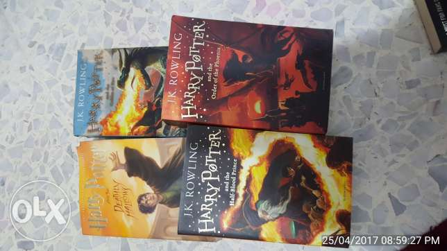 Harry potter collection 4 books