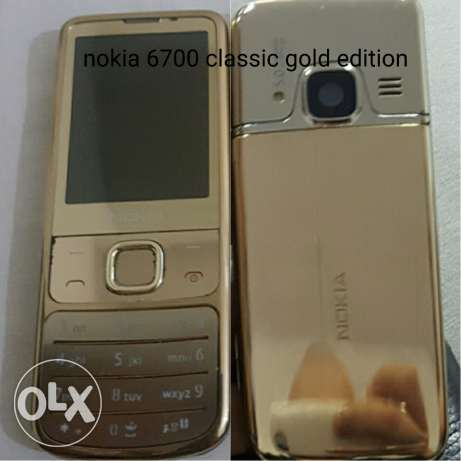 nokia 6700 classic gold edition طبرجا -  2