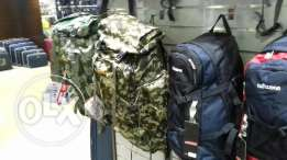 Camping bags and miltary
