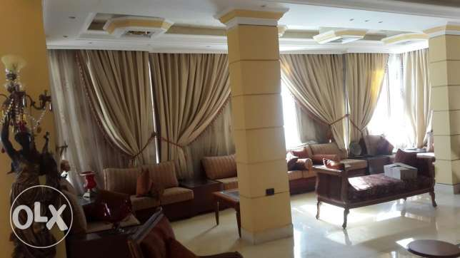 Furnished villa for rent in Dohet allows