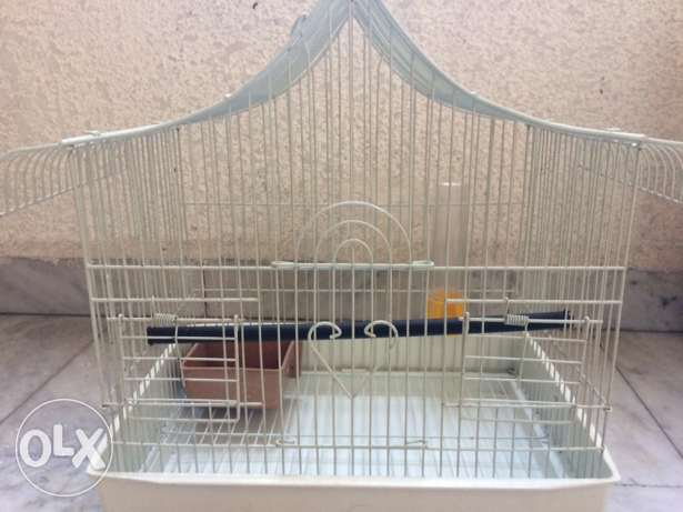 2 Hamster cages and 1 bird cage