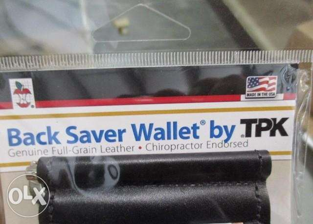 TPK Back Saver Wallet المرفأ -  2