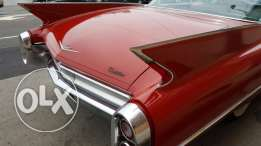 For sale 1960 cadillac deville coupe series 62
