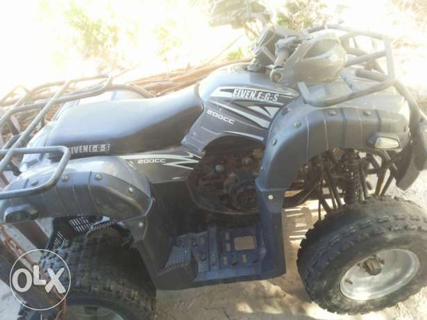 atv eiven200 cc automatique الكورة -  3