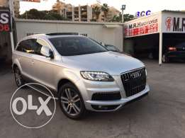 Audi Q7 2008 Silver Premium Package with Facelift Like New!
