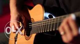 Guitar teaching - private lessons