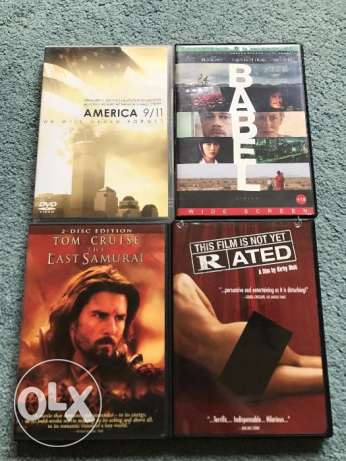 Original movies-DVDs