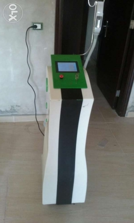Rental of laser machines to Hair removal