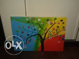 Acrylic painting get it for 24$ only