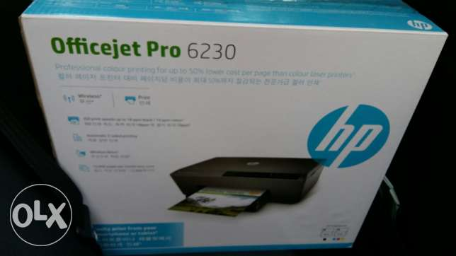 Hp ink jet color printer wireless brand new in box سوديكو -  1