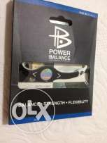 Power balance bracelet black and white medium size 19 cm