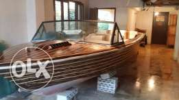 Classic 1980's Correct Craft ski boat for sale