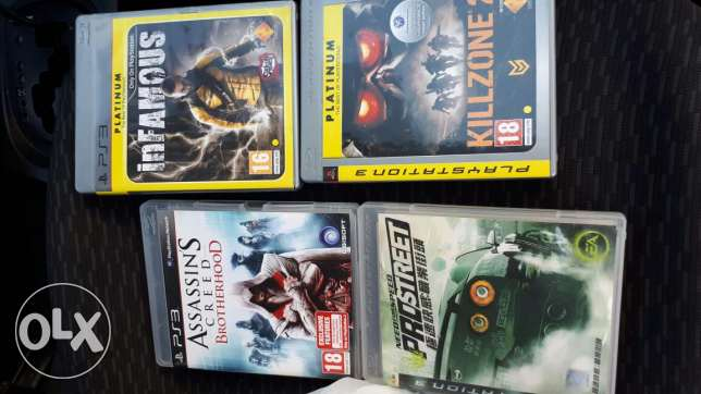 4 games ps3
