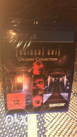 Resident evil orgins Collection ps4 game