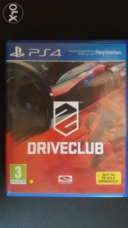 Driveclub for PS4