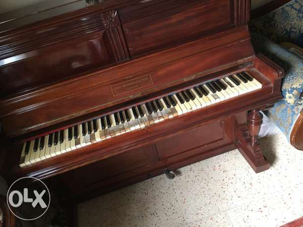 vintage piano uk made in united king dom بنانو صناعة بريطاني قديم 120 كيفون -  6