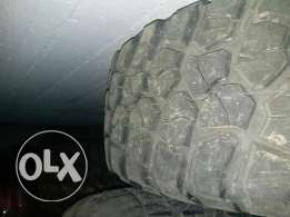 bfgoodrich km2 offroad tires 35×12.5×17 in a very good condition