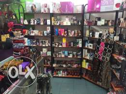 Liquidation of accessories and Fragrances shop تصفية محل عطور و اكسسيسوار
