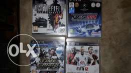 PS3 Games (15$ Each)