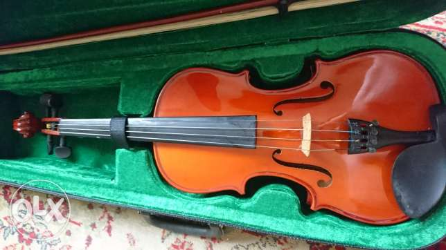 Fitness violin + bow + new case