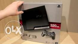 PS3 320 GB with GTA and Call of Duty bi 199$ only