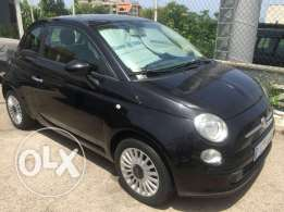 Fiat 500 black on black farech jeled ckean