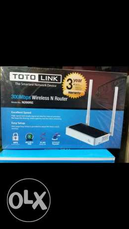 Router 300Mbps TOTO- LINK2017