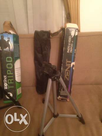 Tripod for cameras , new , without box