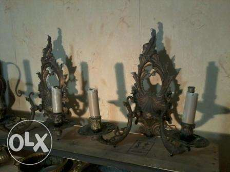 Old bronze 35cm, 60-80 years, each 30$
