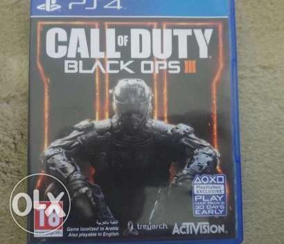 call of duty black ops 3 (ps4 game )