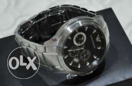 The famous Armani silver and black (genuine with the warranty)
