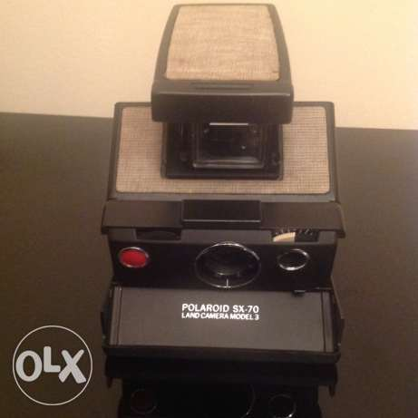 Polaroid SX70 Model 3 Film Camera
