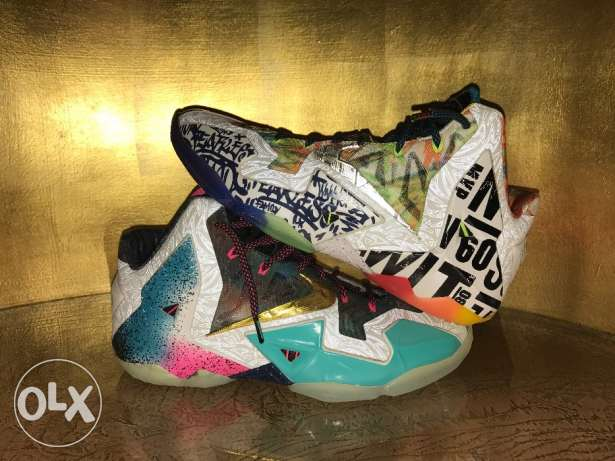 NEW What the Lebron 11s Limited Edition