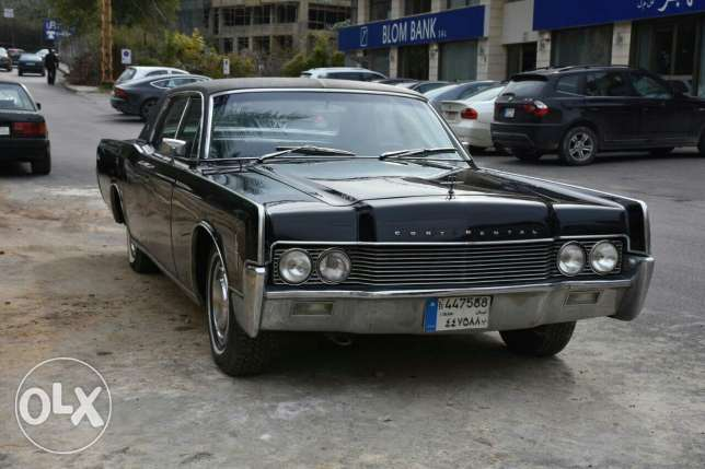 Ford continental lincoln