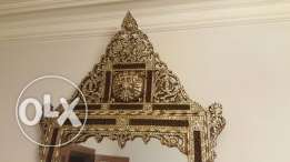huge antique mirror (rare)