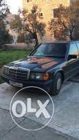 Mercedes 190 in a good condition